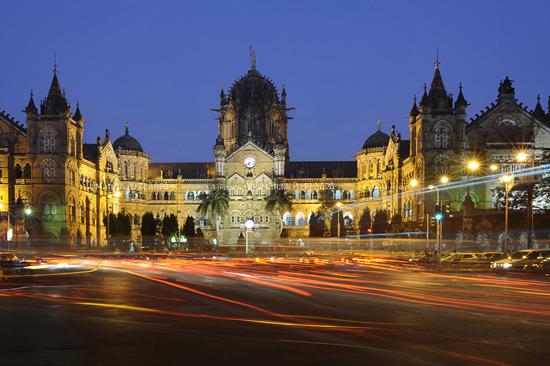 Chhatrapati Shivaji Terminus (19th century railway station in Mumbai)