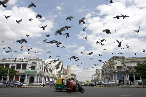 Connaught Place Shopping Area