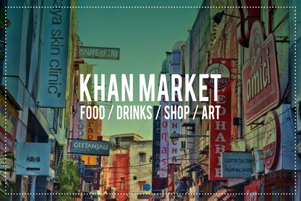Khan Market Shopping Area
