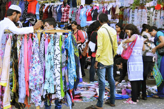 Linking Road Shopping Street