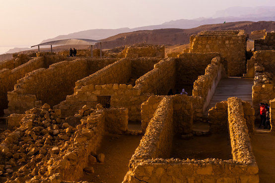 Masada National Park (UNESCO World Heritage Site), Israel