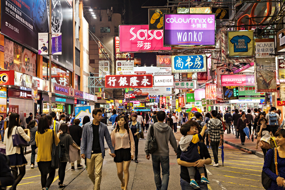 Mongkok Street