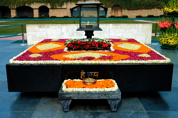 Raj Ghat (Memorial of Mahatma Gandhi)