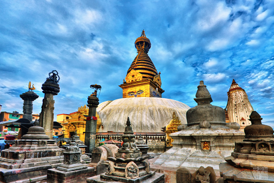 Swayambhunath Temple (Monkey Temple)