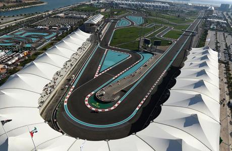 Yas Marina Circuit.