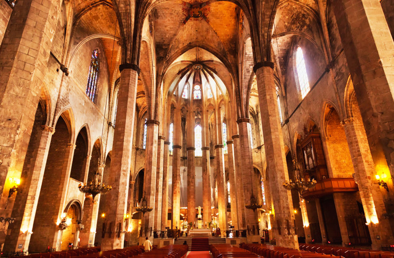 The Basilica of Santa Maria del Mar