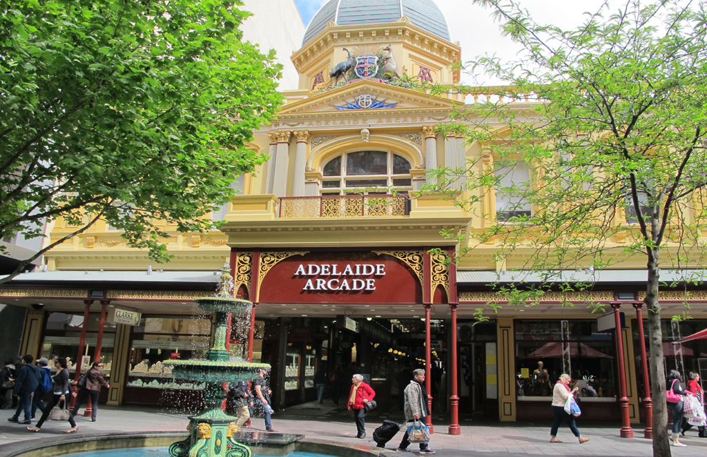 Adelaide Arcade Neighborhood