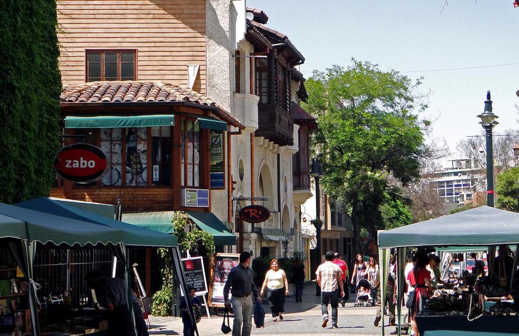 Barrio Lastarria District