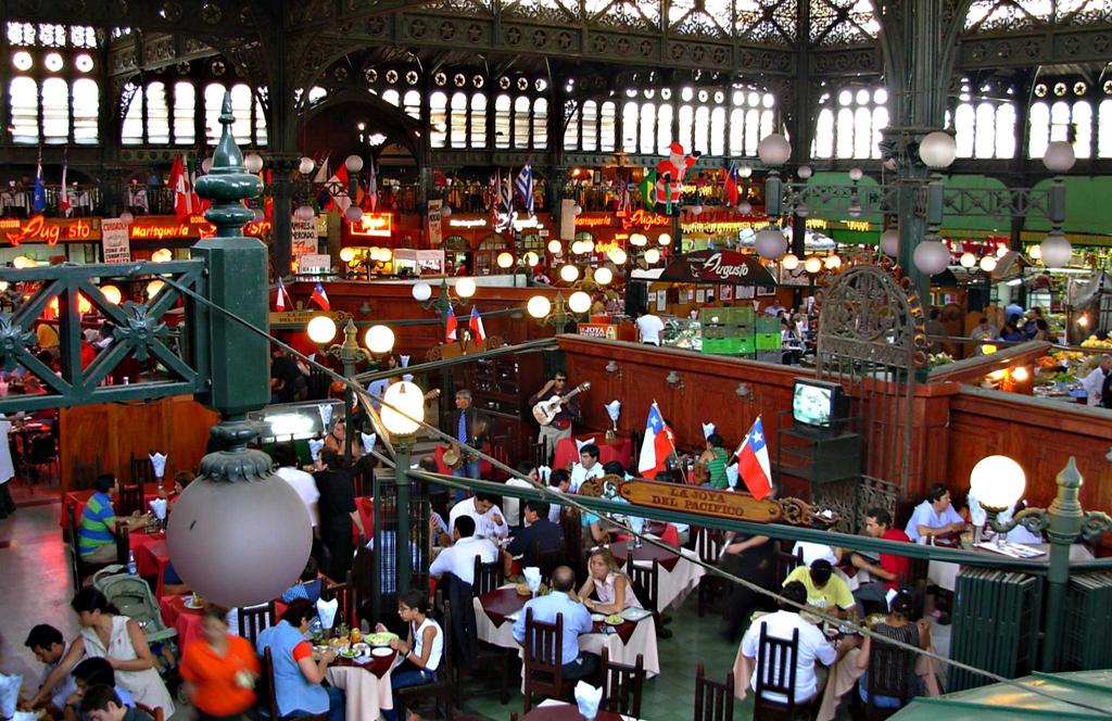 Central Market Santiago