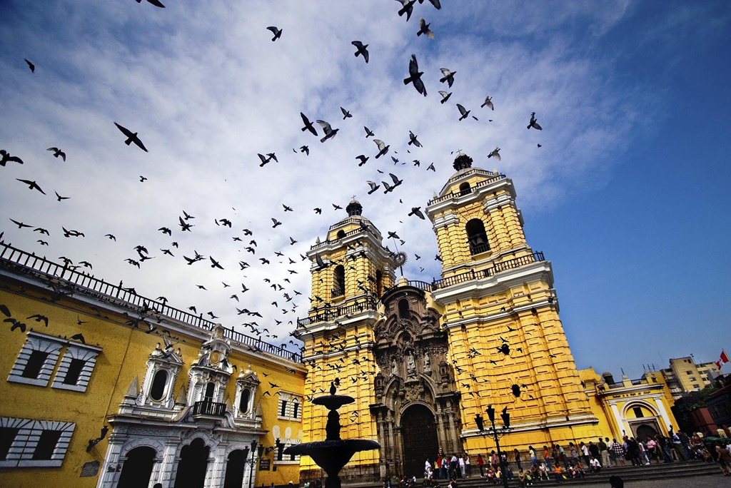 St Francis Cathedral Lima Peru