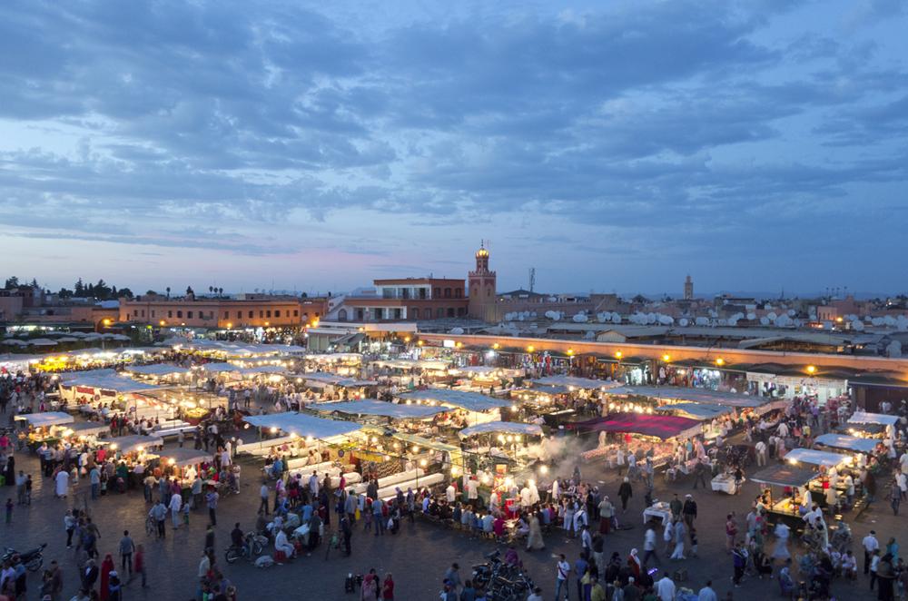 Jemaa el-Fnaa Marketplace
