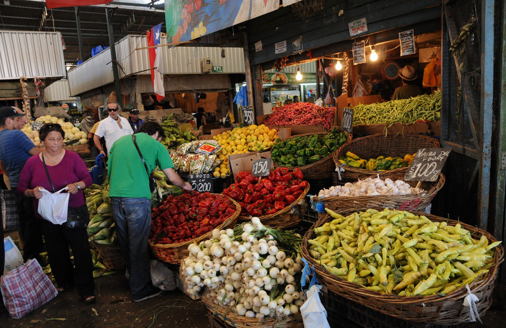La Vega Central Market street