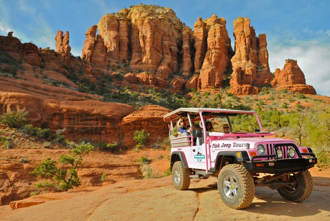 Pink Jeep Tours Las Vegas