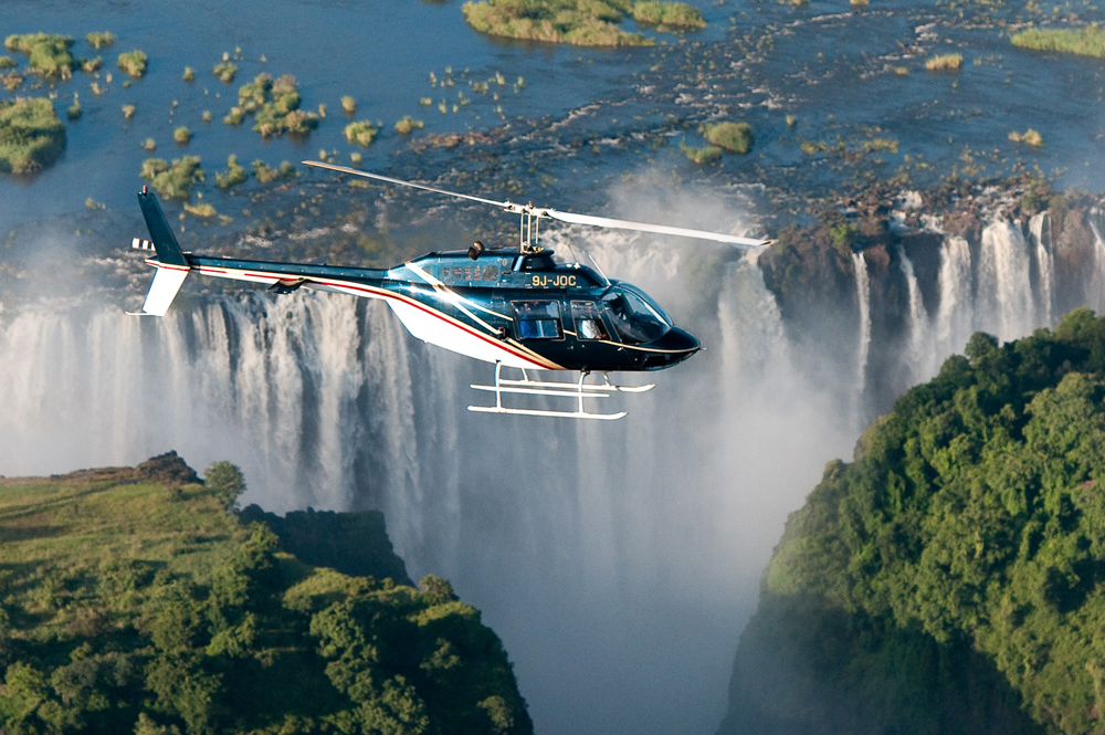 Shearwater Victoria Falls - Helicopter Flights