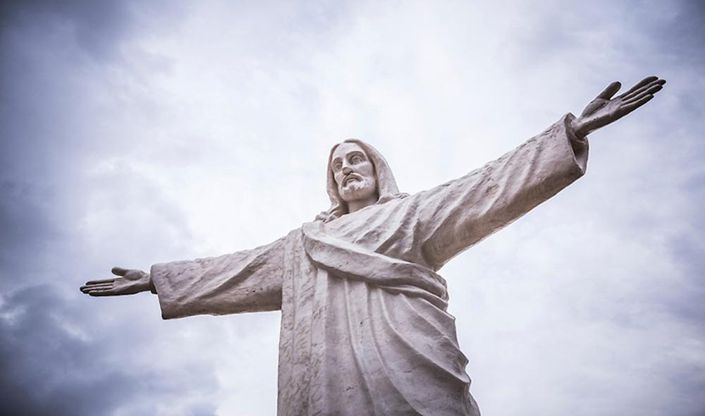 Statue of Christ ( aka Cristo Blanco or White Jesus), Cusco, Peru
