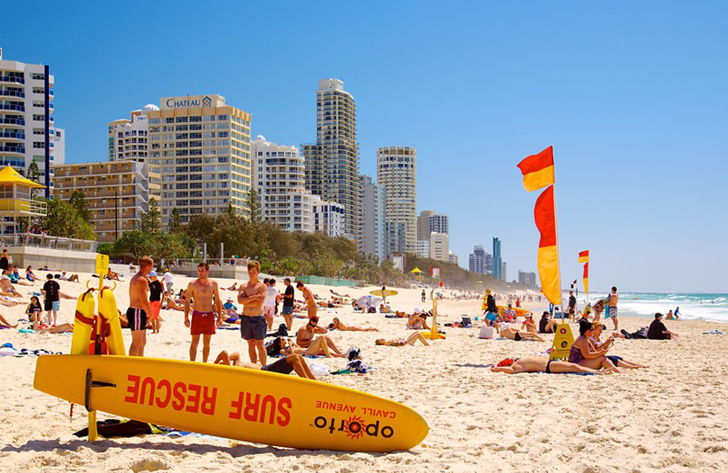 Surfer's Paradise Beach