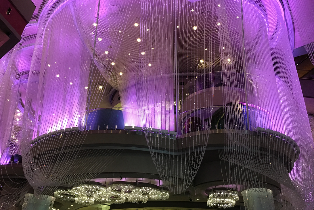 The Chandelier bar ( Cosmopolitan hotel)